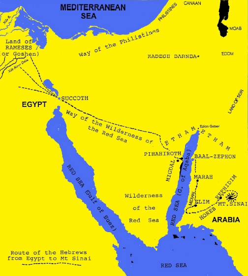 RED SEA CROSSING - True Discoveries